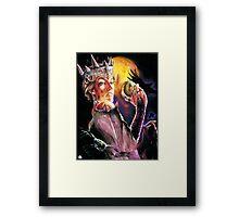 The Evil Queen Framed Print