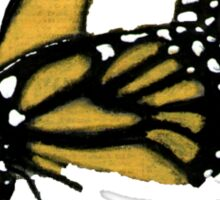 Butterfly on my Shirt Sticker
