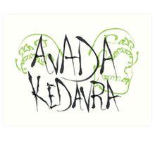 Avada Kedavra black ver. Art Print