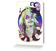 Beetlejuice Greeting Card