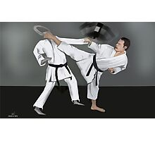 Karate Corky Photographic Print