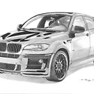 BMW X6 (Hamann Styled and tuned) by Steve Pearcy