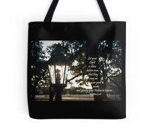 House Lantern- Matthew 5:16 Tote Bag