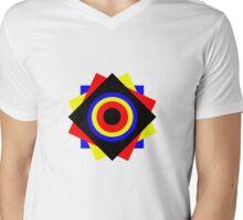 Op-art n.3 Mens V-Neck T-Shirt