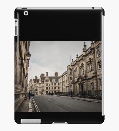 The Streets of Oxford iPad Case/Skin