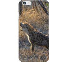 Hyena Cubs (Hyaenidae) iPhone Case/Skin