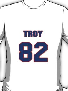 National football player Troy Williamson jersey 82 T-Shirt