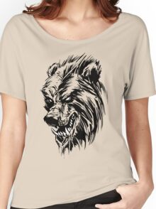 Black Werebear Women's Relaxed Fit T-Shirt