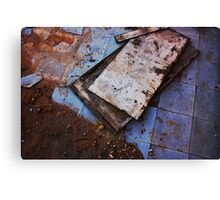 Dirt + Linoleum Canvas Print