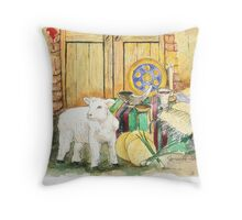 Elements of Passover Throw Pillow