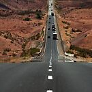 Interstate 15 Outside St. George Utah by Ryan Houston