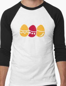 Easter eggs Men's Baseball ¾ T-Shirt
