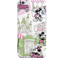 Dooney and Bourke Mickey Minnie Downtown print iPhone case iPhone Case/Skin