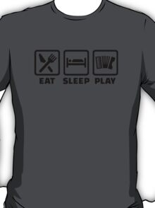 Eat Sleep Play Accordion T-Shirt