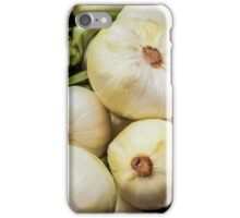 Farmers Market White Onions iPhone Case/Skin