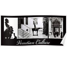 Venetian Culture Poster