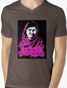 Malala Revolution Mens V-Neck T-Shirt