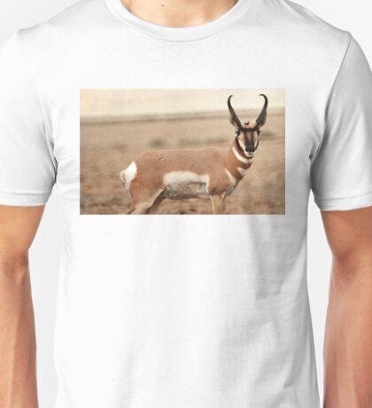 Pronghorn Antelope Unisex T-Shirt
