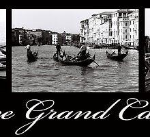 Venice Grand Canal by DavidROMAN