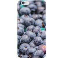A Bounty of Blueberries iPhone Case/Skin
