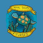 Royal society of turtles by DiabolickalPLAN