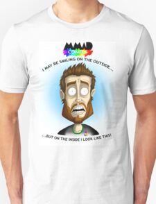 How I look on the inside Unisex T-Shirt
