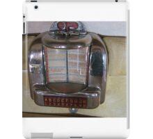 Vintage Booth Juke Box iPad Case/Skin