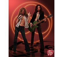 Self Portrait as Robert Plant and Jimmy Page Photographic Print