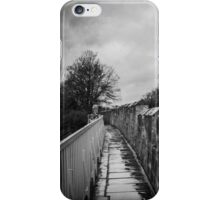 Walking York's City Walls iPhone Case/Skin