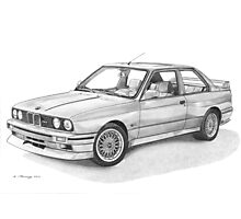 BMW M3 (E30) Photographic Print