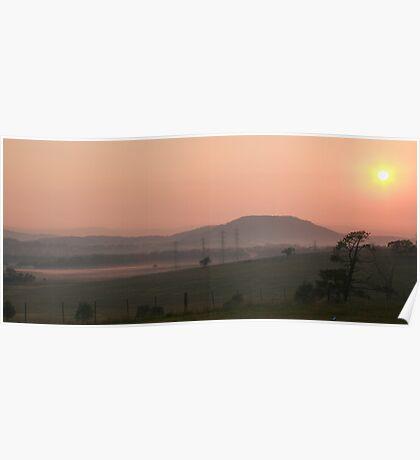 Anzac Day Sunrise Poster