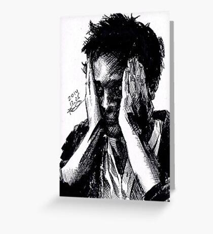 Jim Moriarty/Richard Brook Greeting Card