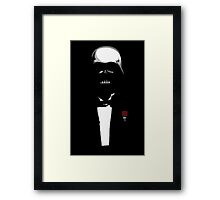 The Darthfather Framed Print