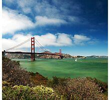 Golden Gate Bridge Photographic Print
