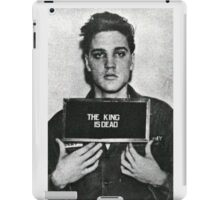 The King of Rock is Death iPad Case/Skin