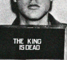 The King of Rock is Death Sticker