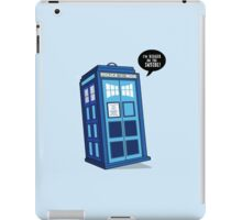 Bigger on the Inside - Doctor Who Shirt iPad Case/Skin