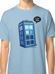 Bigger on the Inside - Doctor Who Shirt Classic T-Shirt