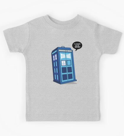 Bigger on the Inside - Doctor Who Shirt Kids Tee