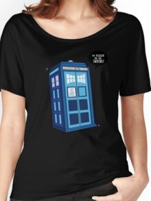 Bigger on the Inside - Doctor Who Shirt Women's Relaxed Fit T-Shirt