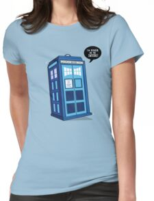 Bigger on the Inside - Doctor Who Shirt Womens Fitted T-Shirt