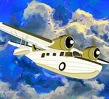Grumman Goose the Flying Yacht by Dennis Melling