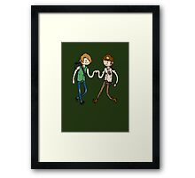 Walking Death Time Framed Print