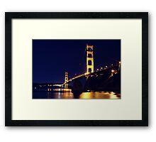Golden Waters 2 Framed Print