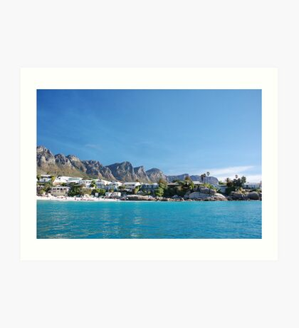 Clifton Blue Art Print