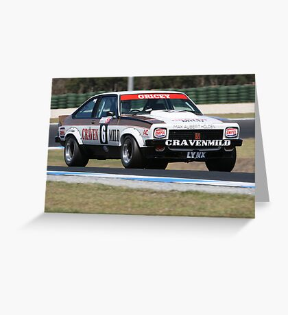 Torana Hatchback Greeting Card