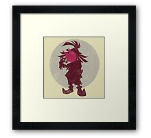A Terrible Fate - Skull Kid Framed Print