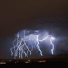 Massive Lightning Strike over NSA Location by Ryan Houston