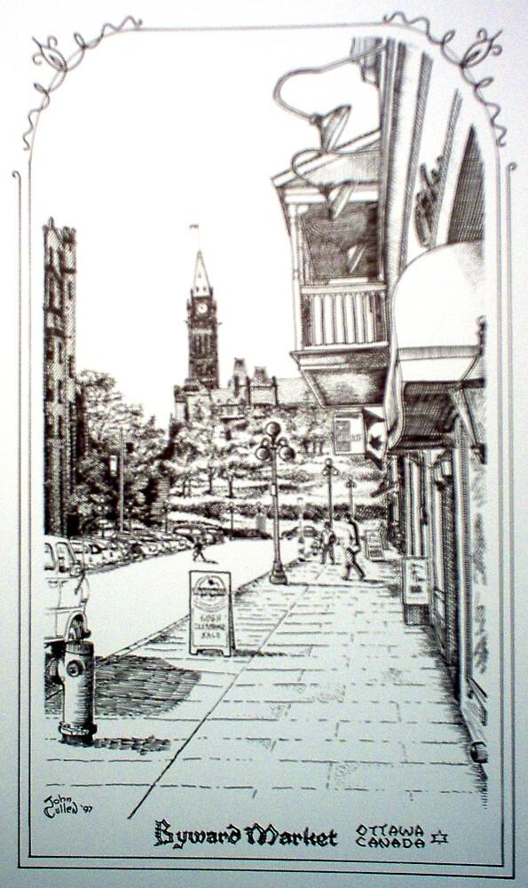 York Street, Byward Ottawa 1997 by John W. Cullen