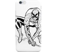 Spider-Man B/W iPhone Case/Skin